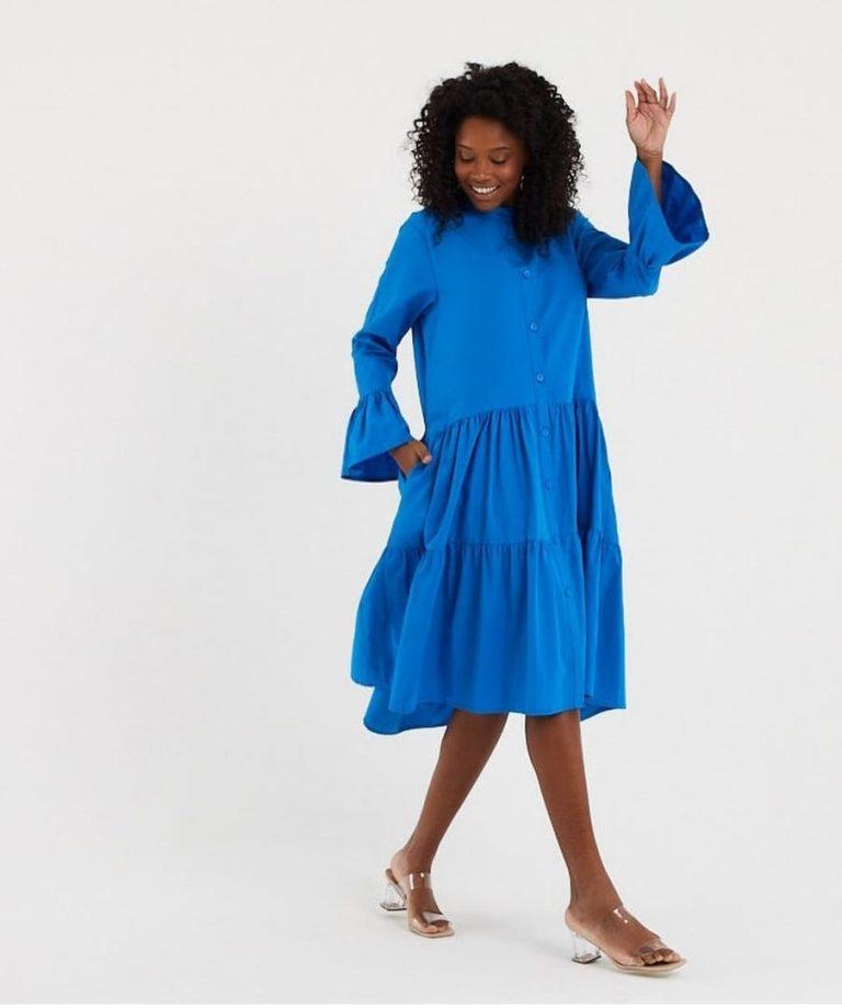 Памучна рокля Селена - 0