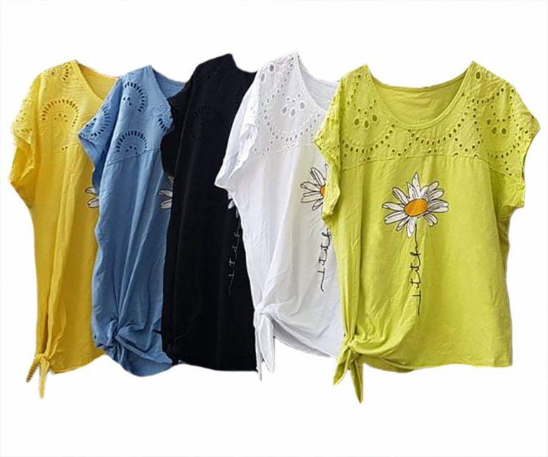 Памучна блуза Маргарита