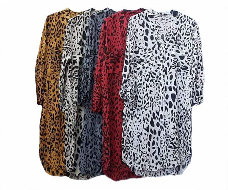 Дълга риза Тигри