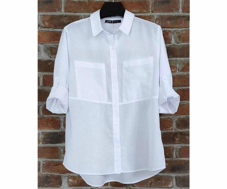 Памучна риза Джоб